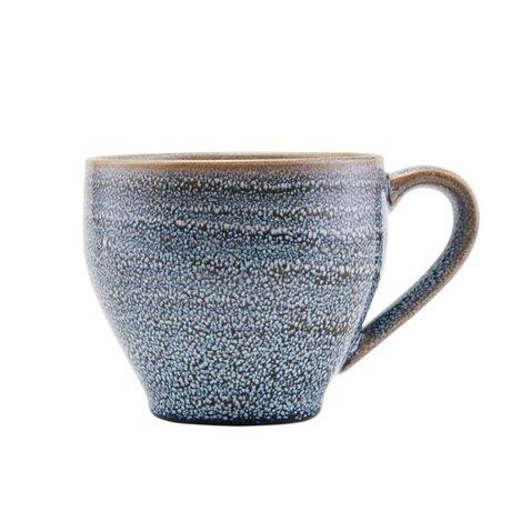 Housedoctor Mug Nord en faïence grise Ø14,5x9,5cm