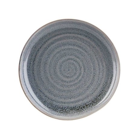 Housedoctor Plate small Nord gray earthenware Ø22cm