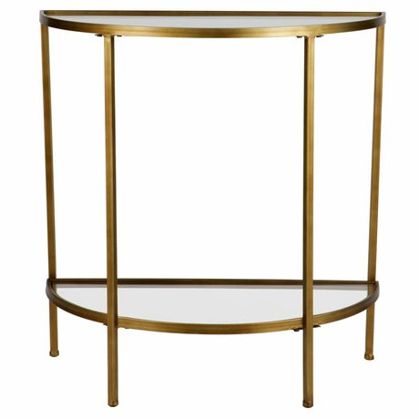 BePureHome Sidetable Goddess antique brass gold 75x37,5x75,5cm