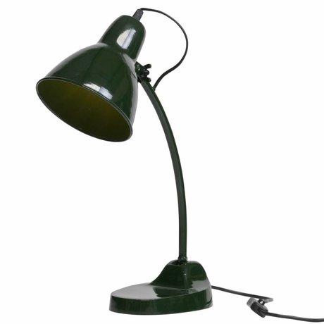 BePureHome Lampe de table Masterpiece en métal vert 43x16x37cm