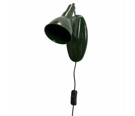 BePureHome Wandlamp Masterpiece groen metaal 16x11x21cm