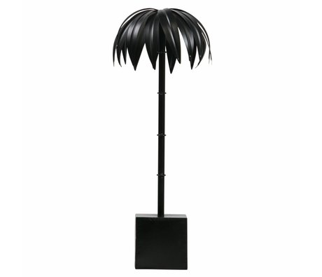 BePureHome Palm L black metal 50x19x19cm