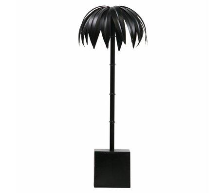 BePureHome Palm L métal noir 50x19x19cm