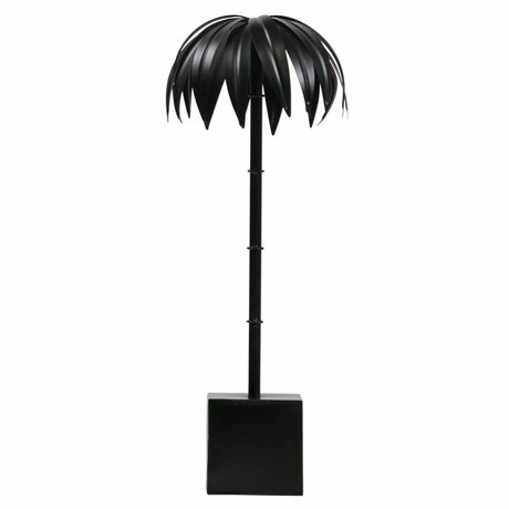 BePureHome Palm L schwarzes Metall 50x19x19cm