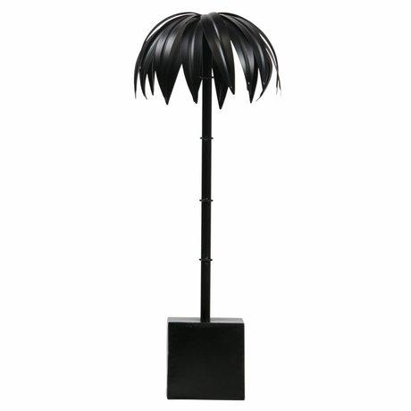 BePureHome Palm L zwart metaal 50x19x19cm