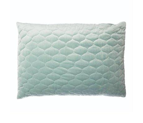 Riverdale Sierkussen Chelsea mintgroen textiel 50x70cm