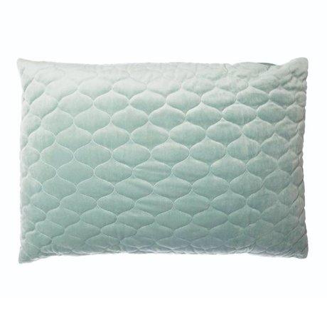 Riverdale Throw pillow Chelsea mint green textile 50x70cm