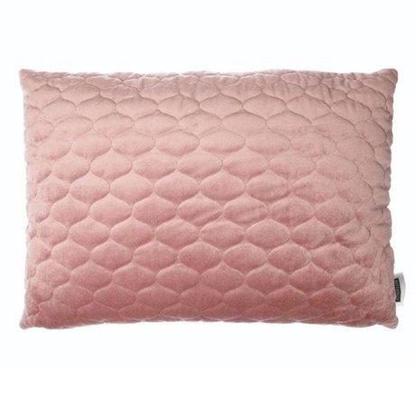 Riverdale Coussin Chelsea vieux textile rose 50x70cm