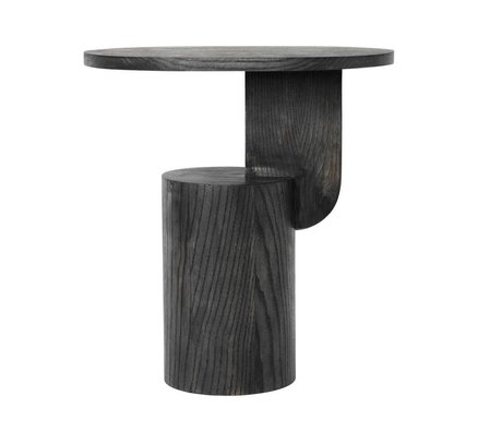 Ferm Living Insert latéral bois noir 49x34x50cm