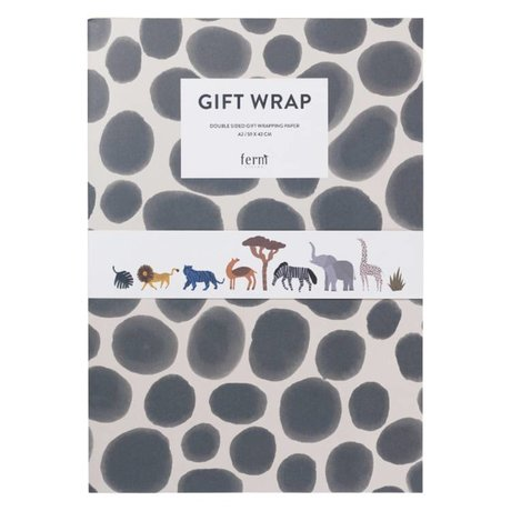 Ferm Living Gift wrapping book cadeaupapier kids