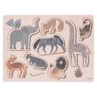 Ferm Living Puzzel Safari plywood 22x30x1,6cm