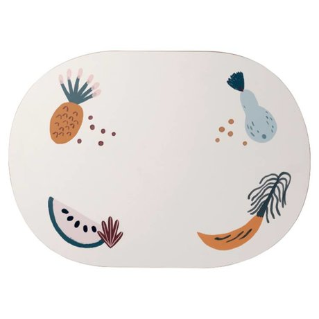 Ferm Living Set de table Fruiticana 46x33x0,5cm