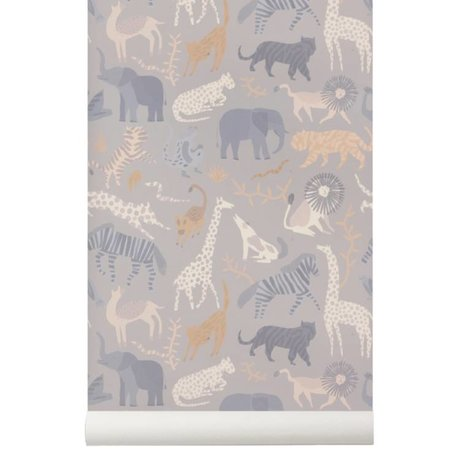 Ferm Living Wallpaper Safari