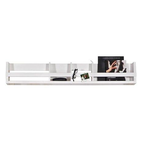 BePureHome Boekenkast Shelving wit grenen hout 25x150x15cm