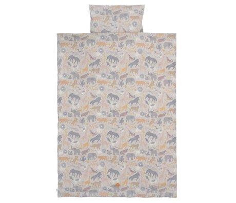 Ferm Living Bettbezug Safari Junior Baumwolle 100x140 / 46x40cm Baumwolle