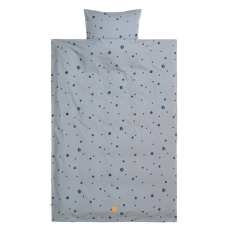 Ferm Living Housse de couette Moon teen cotton 140x200 / 63x60cm cotton