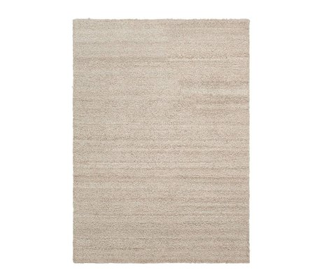 Ferm Living Vloerkleed Shade loop beige textiel 140x200cm