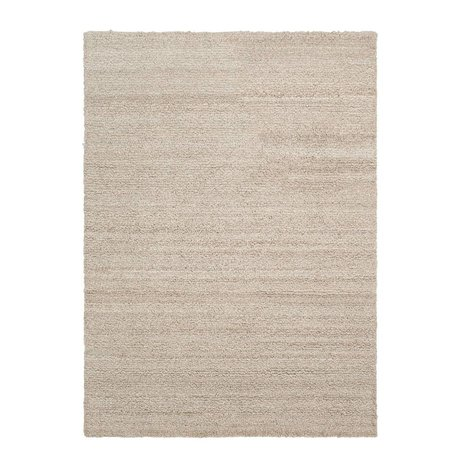 Ferm Living Carpet Shade loop beige textile 140x200cm
