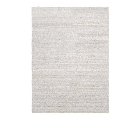Ferm Living Carpet Ease loop of broken white textile 140x200cm