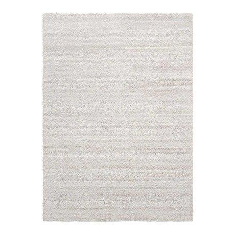 Ferm Living Vloerkleed Ease loop gebroken wit textiel 140x200cm