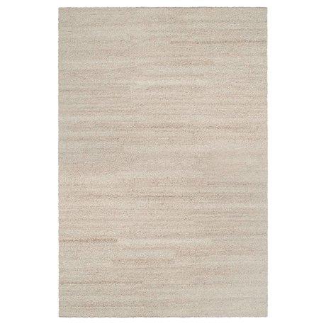 Ferm Living Teppich Schattenschleife beige Textil 200x300cm