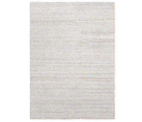 Ferm Living Teppich Ease Schleife gebrochenes weißes Textil 200x300cm