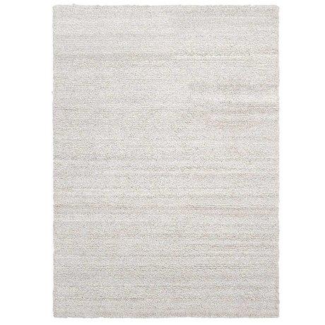 Ferm Living Vloerkleed Ease loop gebroken wit textiel 200x300cm