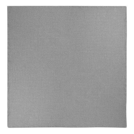Ferm Living Beddensprei Daze grijs katoen 250x240cm
