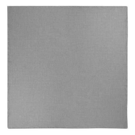 Ferm Living Bedspread Daze gray cotton 250x240cm