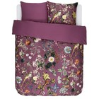 ESSENZA Duvet cover Xess Masala red cotton satin 200x220 + 2 / 60x70cm