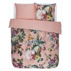 ESSENZA Bettbezug Fleur rosa Baumwollsatin 200x220 + 2 / 60x70cm