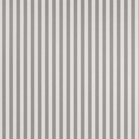 Ferm Living Tapete Thin Lines graues gebrochenes weißes Papier 53x1000cm