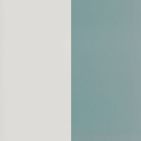 Ferm Living Behang Thick Lines dusty blauw gebroken wit papier 53x1000cm
