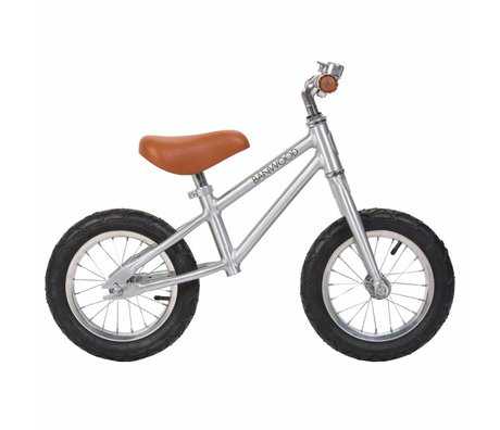 Banwood Kinderloopfiets First Go Chrome 65x20x41cm