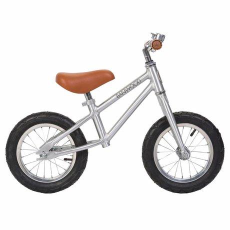 Banwood Kinderloopfiets First Go Chrome 65x20x41cm