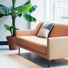 FÉST Sofa Ace beige Steelcut Trio 3 - 436 kvadrat 2-Sitzer 161x91x77cm
