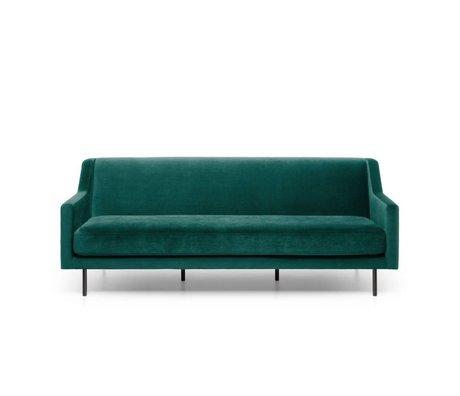 FÉST Sofa Ace dark green Seven Forest 162 3-seat 201x91x77cm