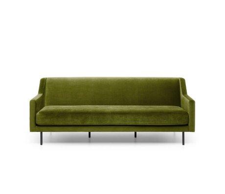 FÉST Bank ace groen Seven moss  59 3-zits 201x91x77cm