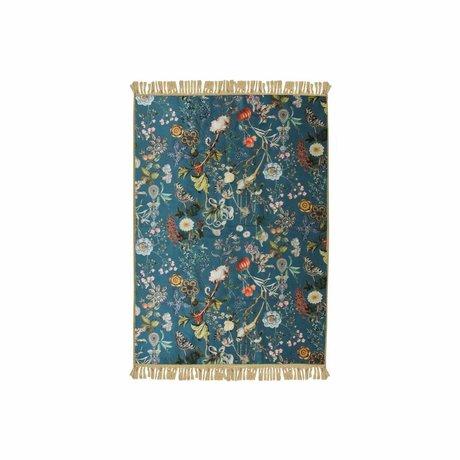 ESSENZA Tapis Xess bleu polyester polyester 60x90cm