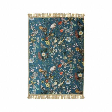 ESSENZA Tapis Xess bleu polyester polyester 120x180cm