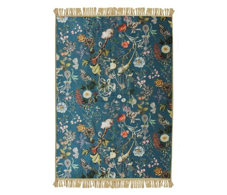 ESSENZA Carpet Xess petrol blue polyester 180x240cm
