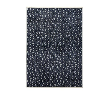 ESSENZA Carpet Bory petrol blue polyester180x240cm