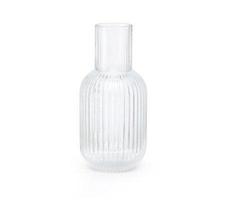 FÉST Vaas Otis transparant glas S Ø9,5x21cm