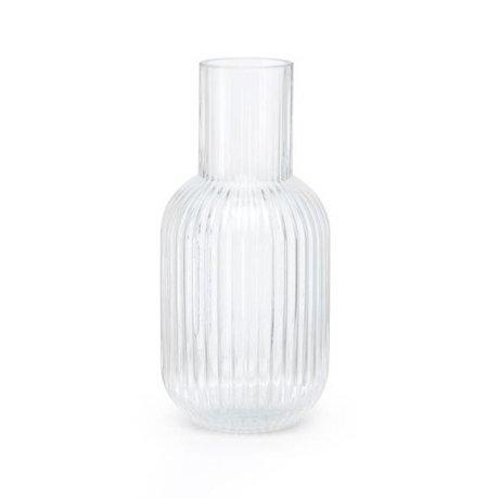 FÉST Vase Otis transparentes Glas S Ø9,5x21cm