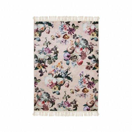 ESSENZA Vloerkleed Fleur roze polyester 120x180cm