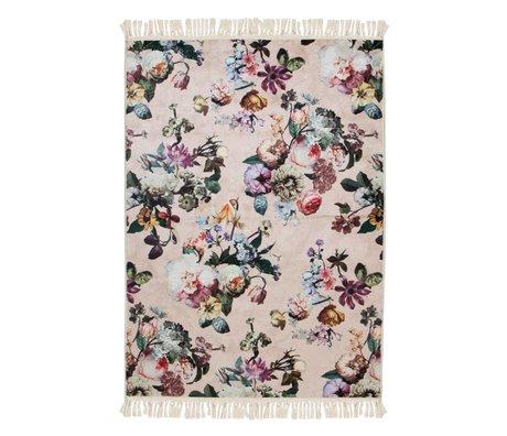 ESSENZA Carpet Fleur pink polyester 180x240cm