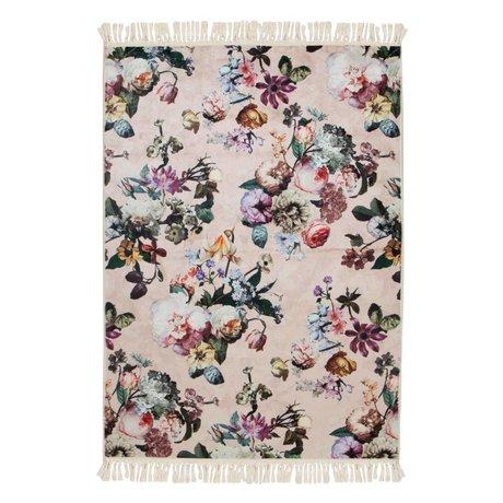 ESSENZA Vloerkleed Fleur roze polyester 180x240cm