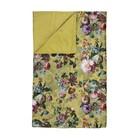 ESSENZA Plaid Fleur Golden geel velvet polyester 135x170cm