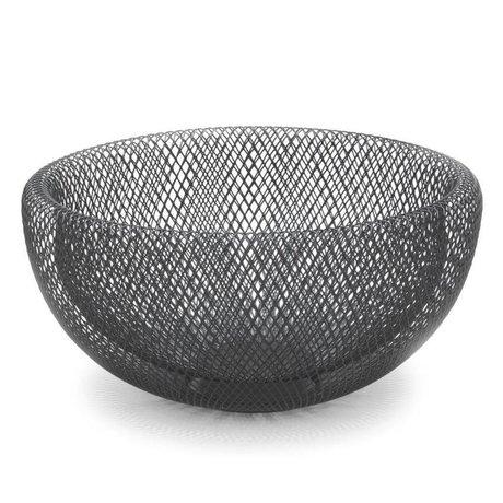 FÉST Dish Marais schwarz Metall L Ø29x14,5cm