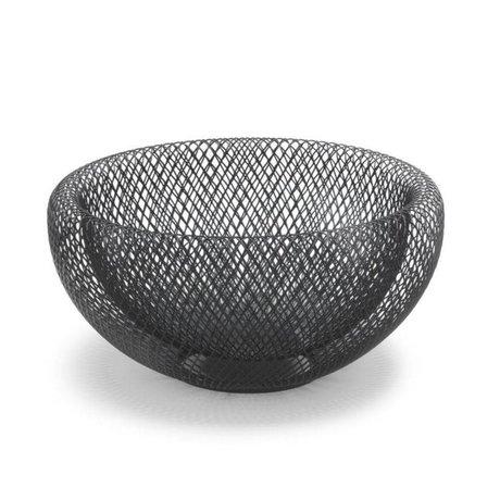 FÉST Schaal Marais zwart metaal S Ø24x12,5cm